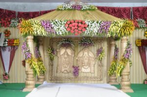 Wedding decoration Tirupati