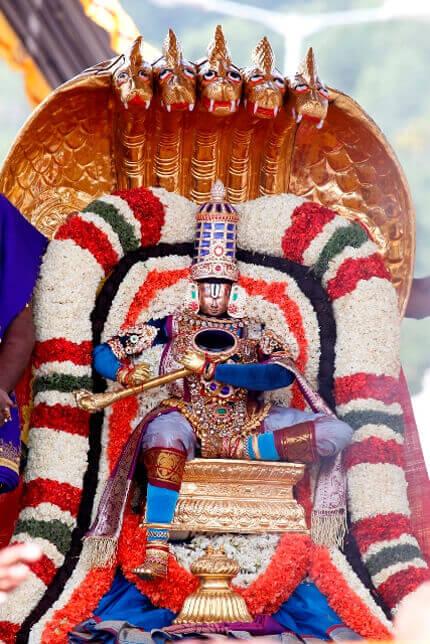 చిన్నశేషవాహనం - Tirupati Helps
