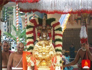 simha-vahanam-సింహ వాహనం