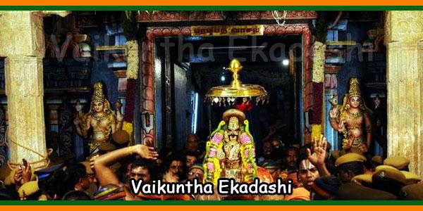 Vaikuntha Ekadashi Fasting 2019 Date