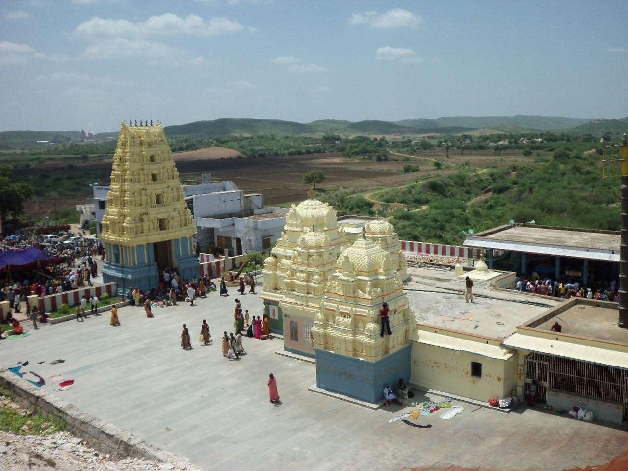 Vedadri Narasimha Swamy Temple Jagayyapeta