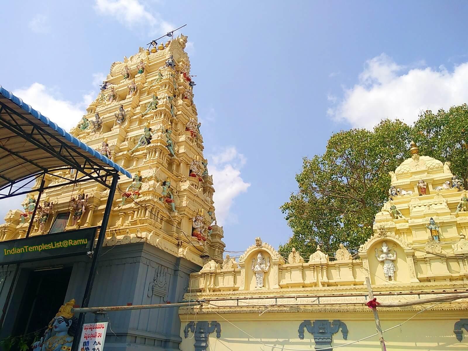 Pedakakani Temple History