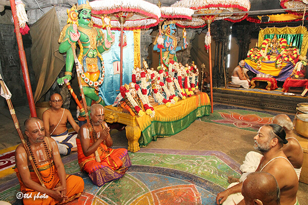 ADHYAYANOTSAVAM BEGINS AT Sri Govindarajaswamy Temple